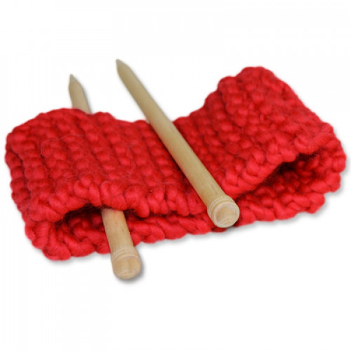 Kit Tricot Headband Anna Rouge