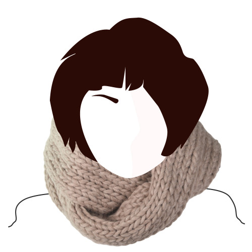 Kit tricot Snood Loop Catherine