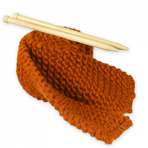 "Kit Tricot écharpe <span class=""name_product"">Liliane </span> Orange Citrouille"