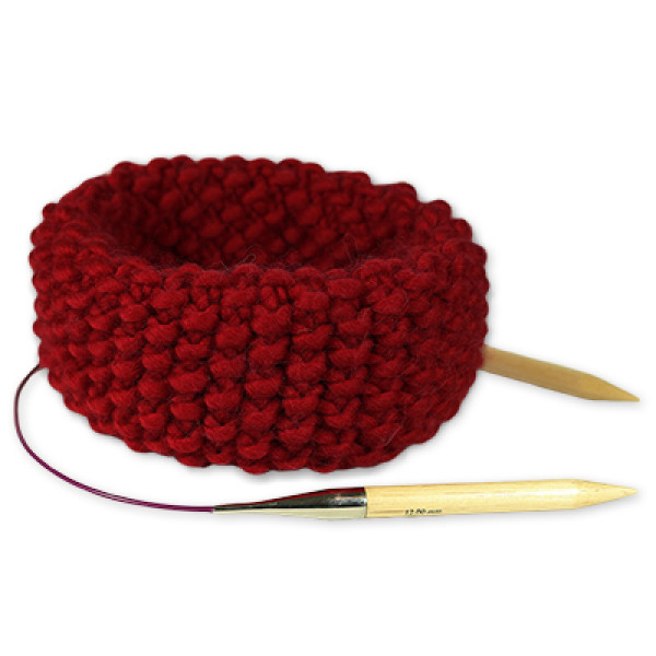 "Kit Tricot Snood <span class=""name_product"">Claude </span> Rouge Ruby"