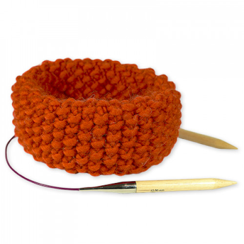 "Kit Tricot Snood <span class=""name_product"">Claude </span> Orange Citrouille"