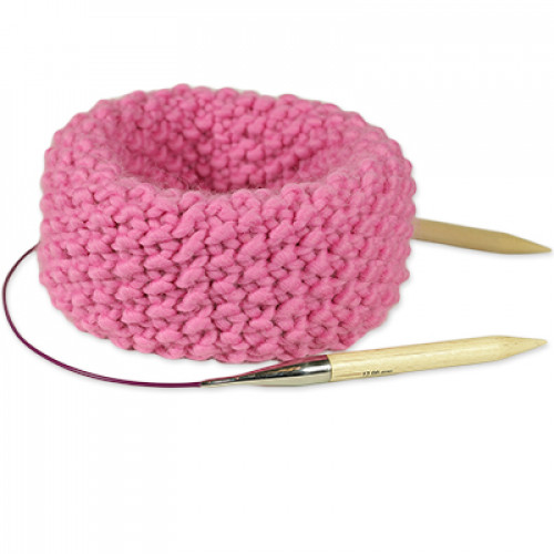 "Kit Tricot Snood <span class=""name_product"">Claude </span> Rose Bonbon"